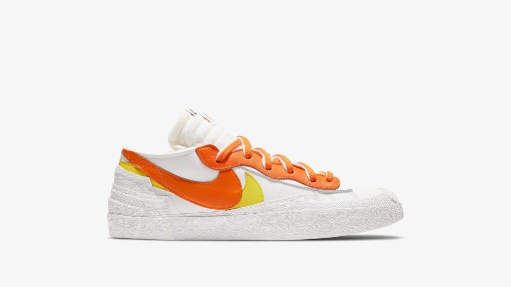 Nike x Sacai Blazer Low Magma Orange