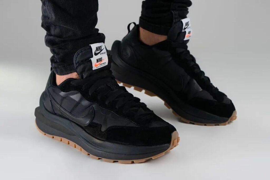 Nike Sacai VaporWaffle Black Gum