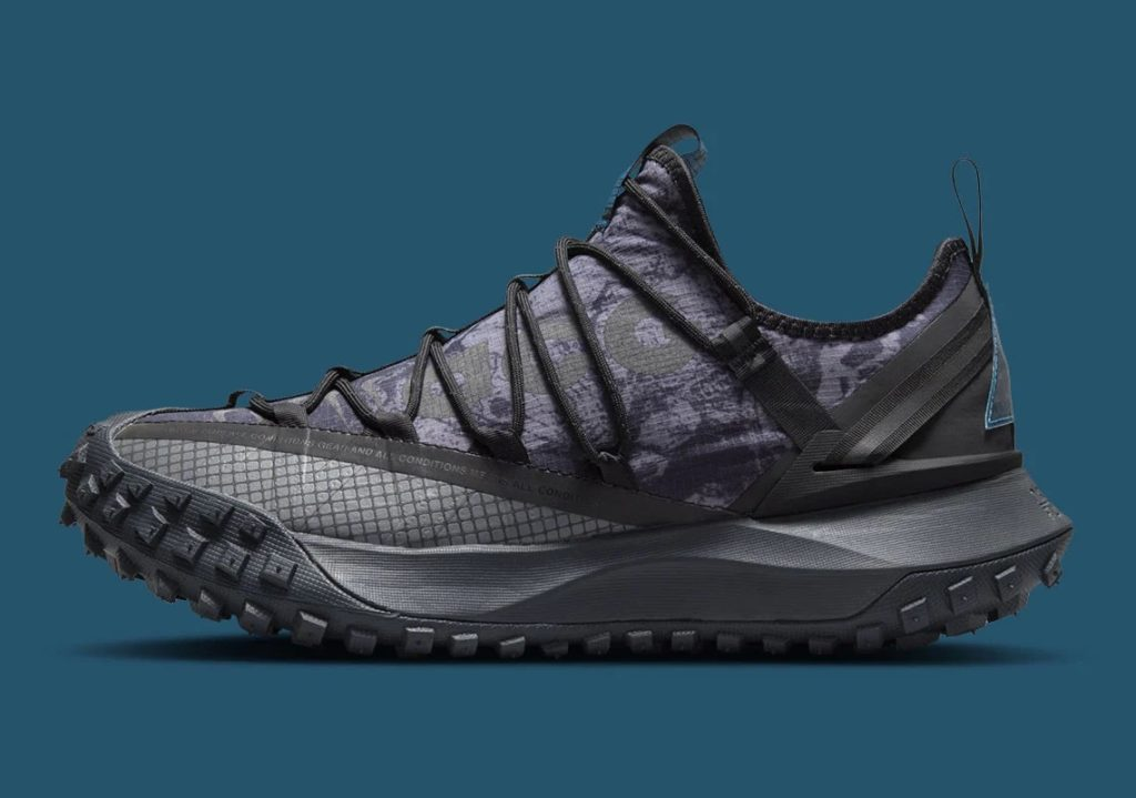Nike ACG Mountain Fly Low Black Green Abyss