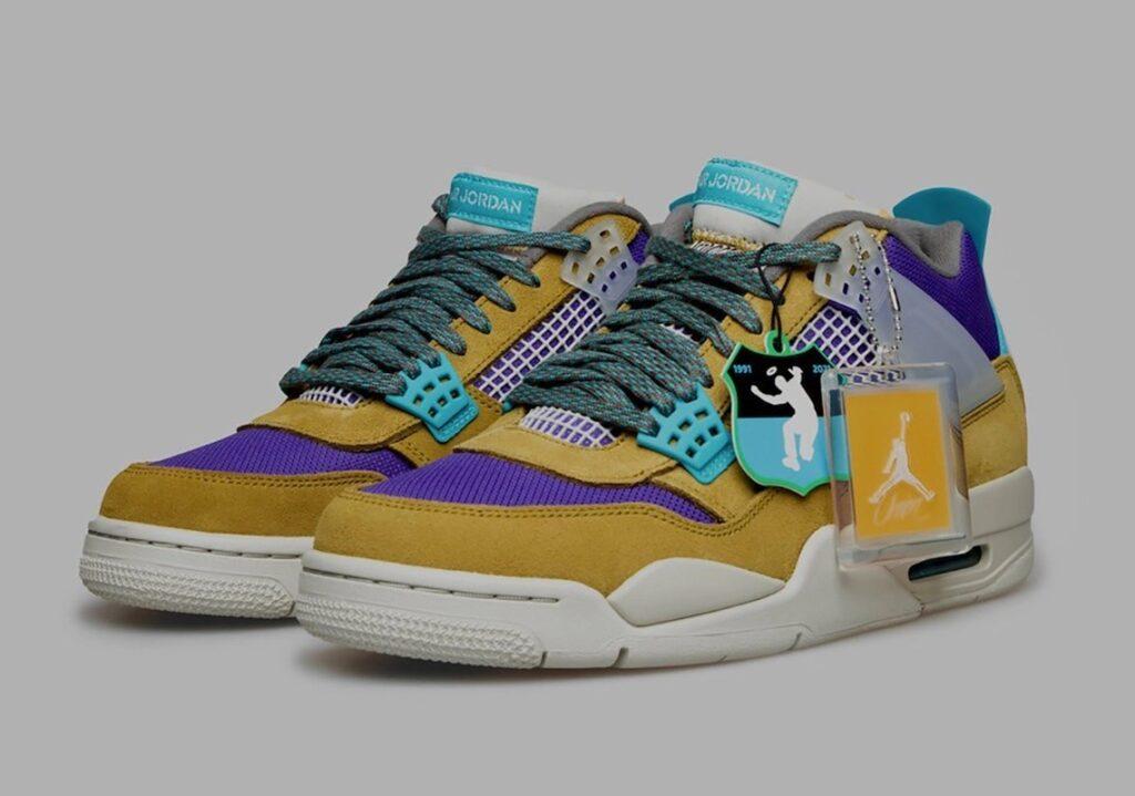 Union LA x Nike Air Jordan 4 Desert Moss