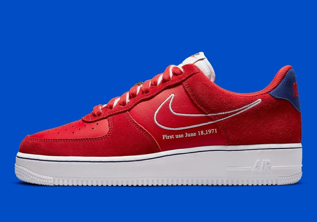 Air Force 1 First Use Red
