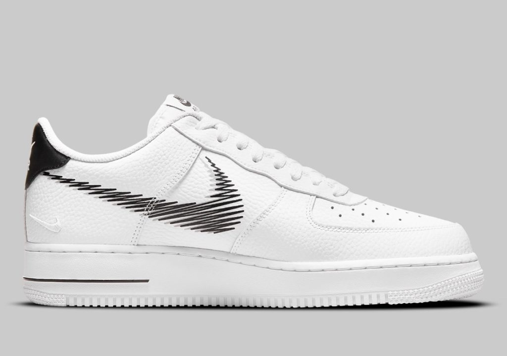 Air Force 1 Low Zig Zag White