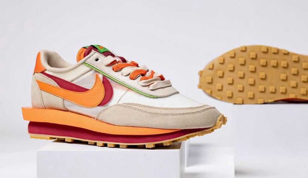 CLOT x Sacai x Nike LD Waffle