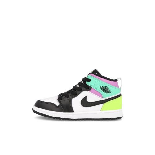 Jordan 1 Mid Pastell Black Toe