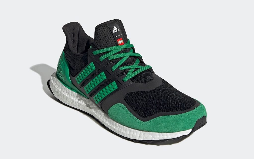 Lego x adidas Ultra Boost Black Green
