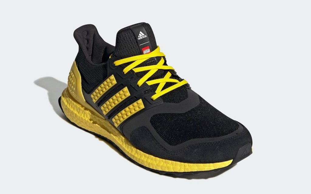 Lego x adidas Ultra Boost Black Yellow