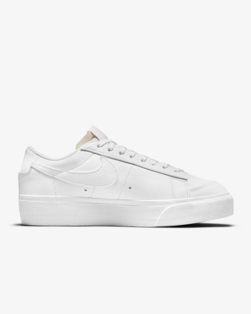 Nike Blazer Low Platform White