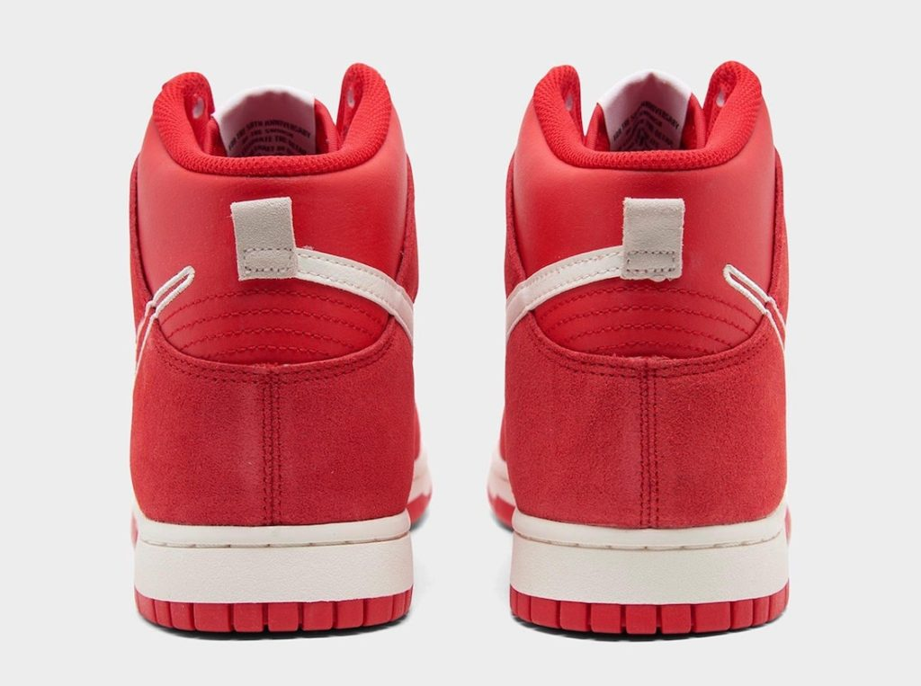 Nike Dunk High First Use Red