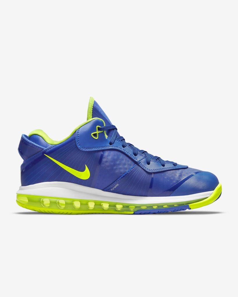 Nike LeBron 8 V2 Low Treasure Blue