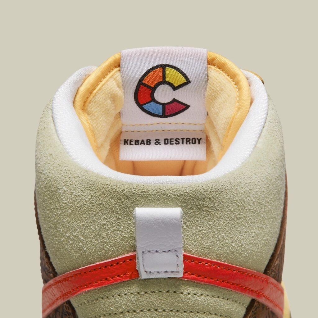 Nike SB Dunk High Kebab and Destroy x Color Skates