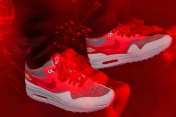 CLOT x Air Max 1 Solar Red