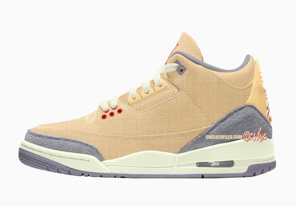 Nike Air Jordan 3 Canvas