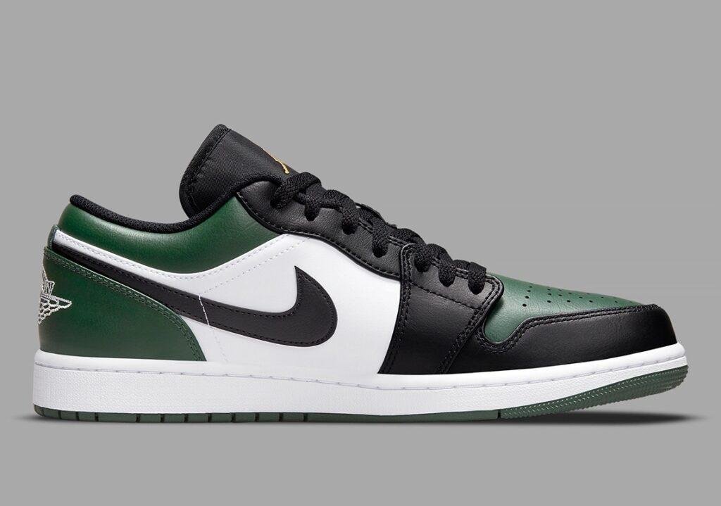 Jordan 1 Low Green Toe