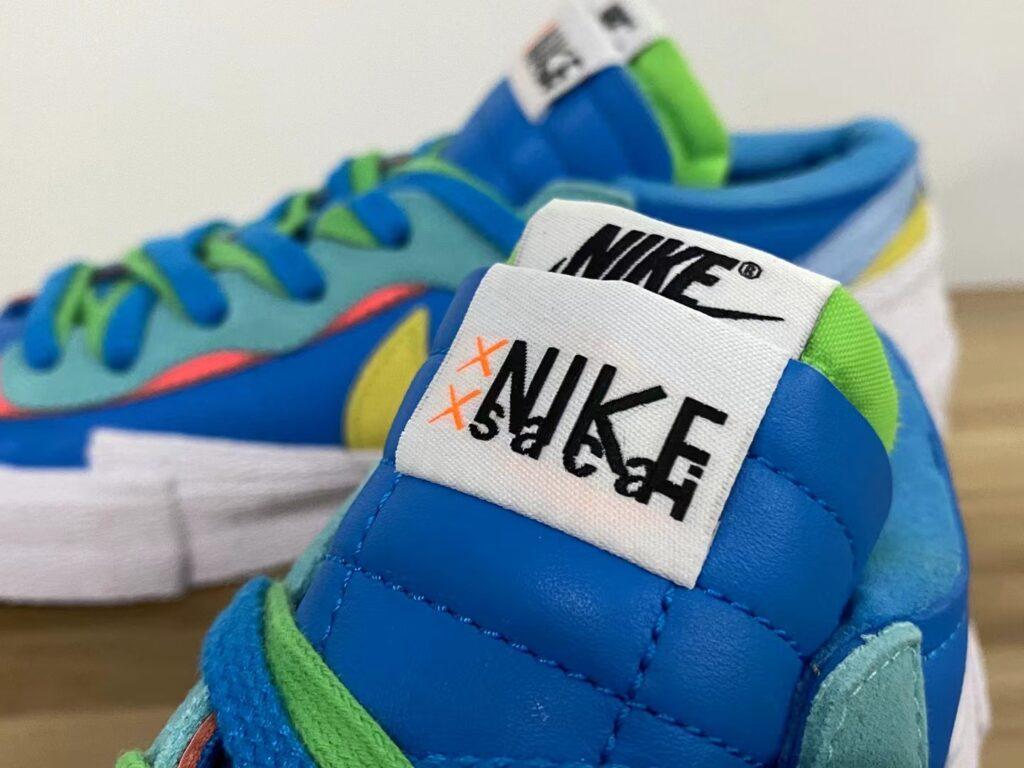 KAWS x Sacai x Nike Blazer Low Blue