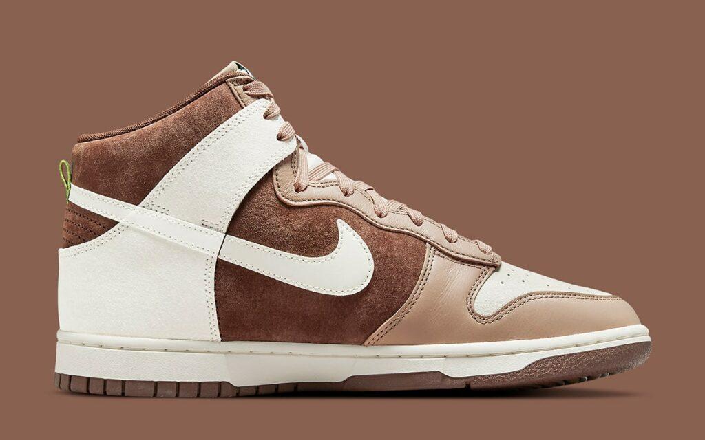 Nike Dunk High Light Chocolate DH5348-100