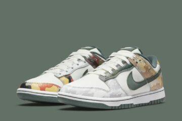 Nike Dunk Multi Camo