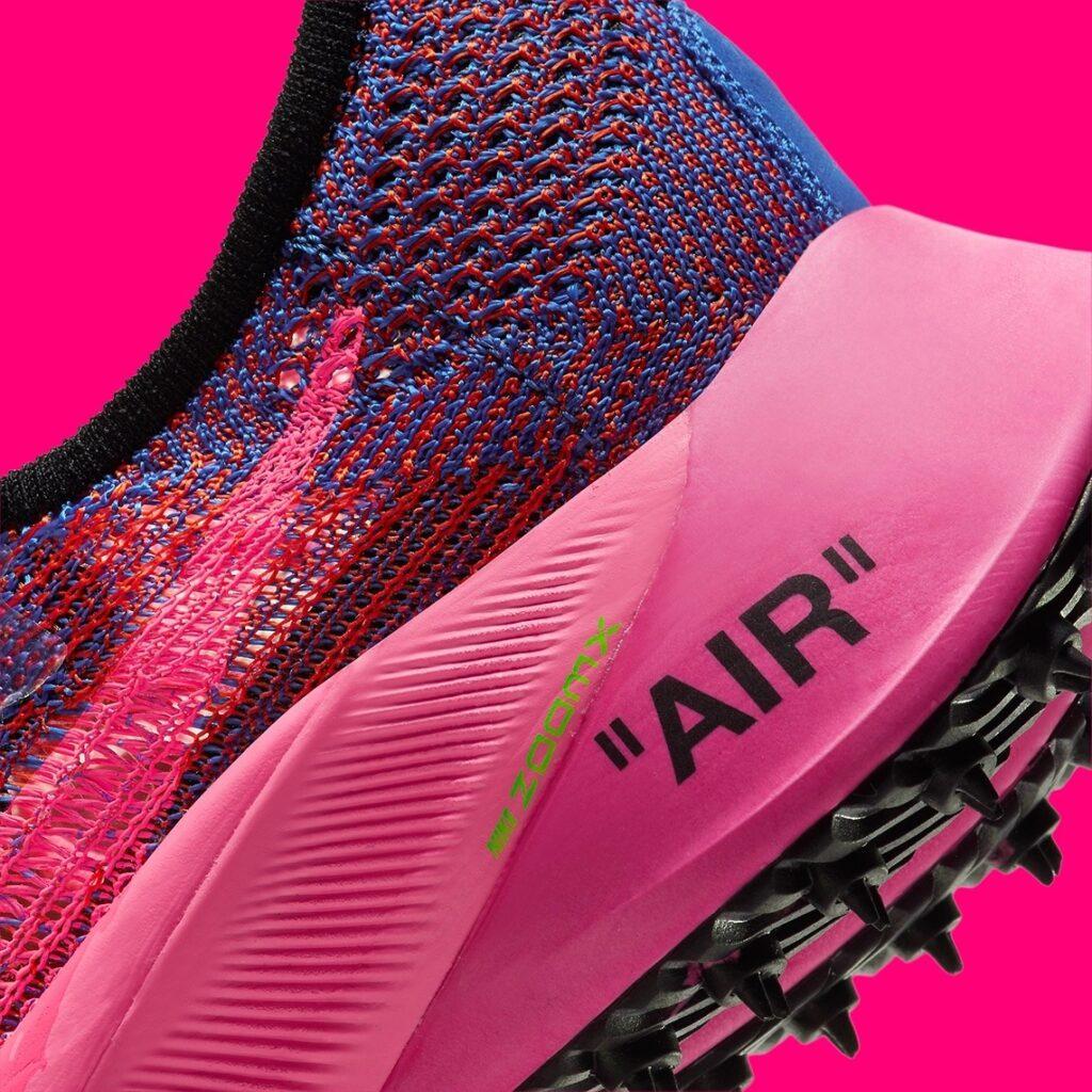 Off White x Nike Air Zoom Tempo NEXT% Pink Glow