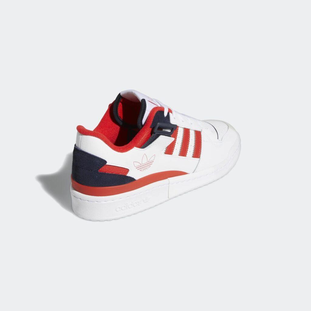 adidas Forum Low Exhibit Red Blue