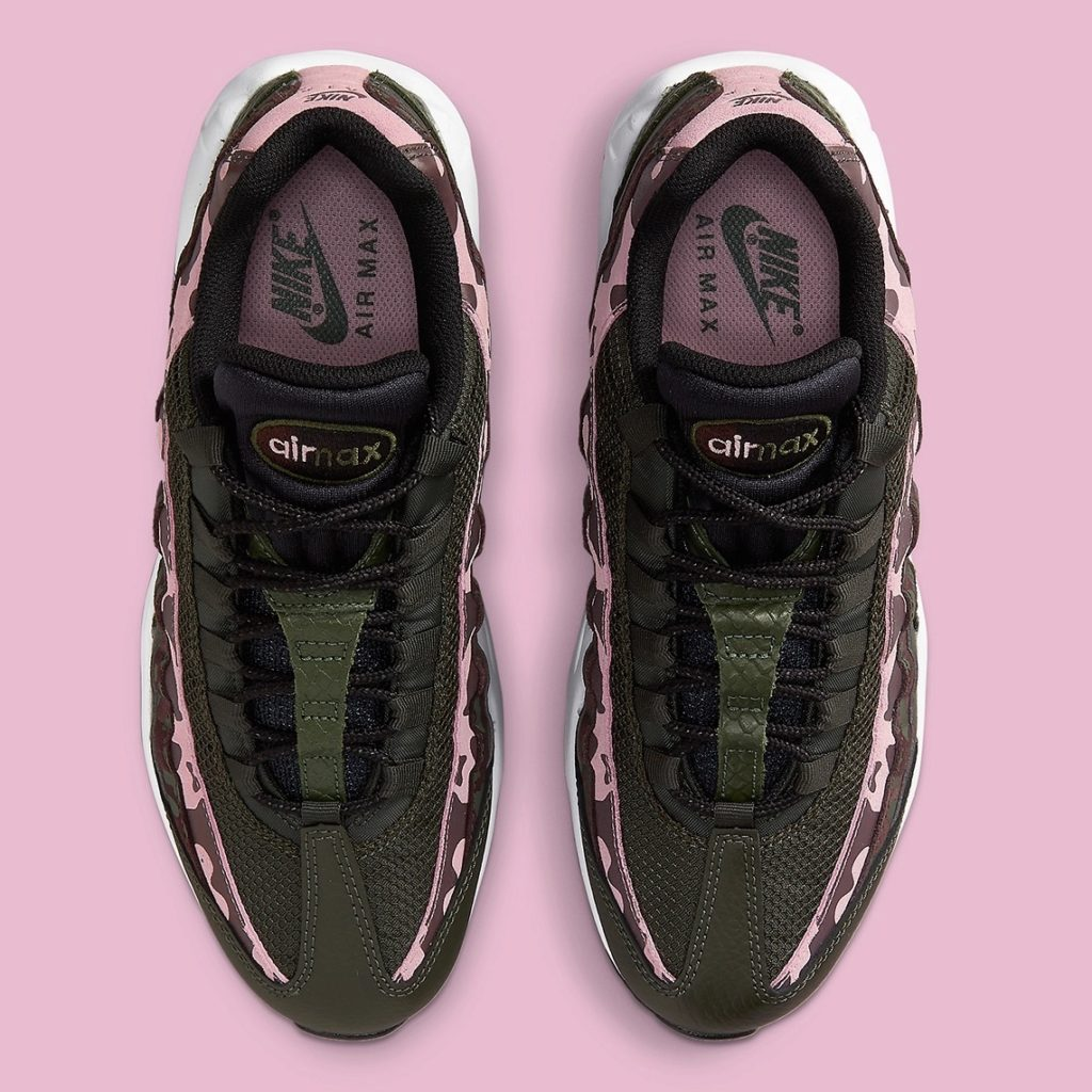 Air Max 95 Camo Olive Pink