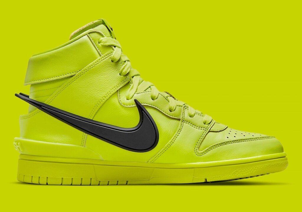 AMBUSH x Nike Dunk High Atomic Green
