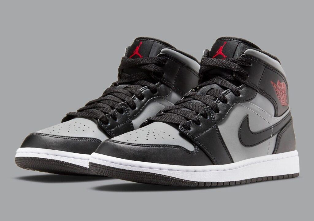 Jordan 1 Mid Grey Black