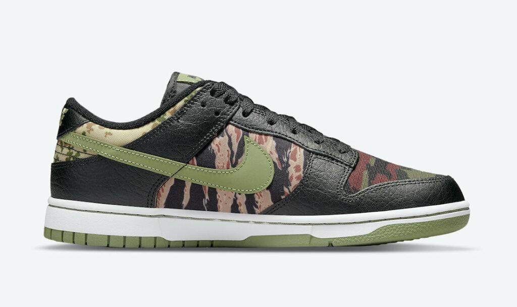 Nike Dunk Low Oil Green