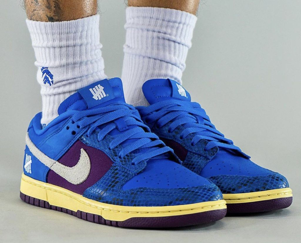 Nike Dunk Low UNDEFEATED Royal Dunk