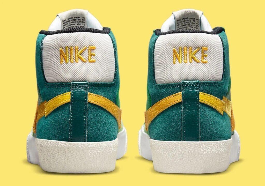 Nike SB Blazer Mid Mosaic Green