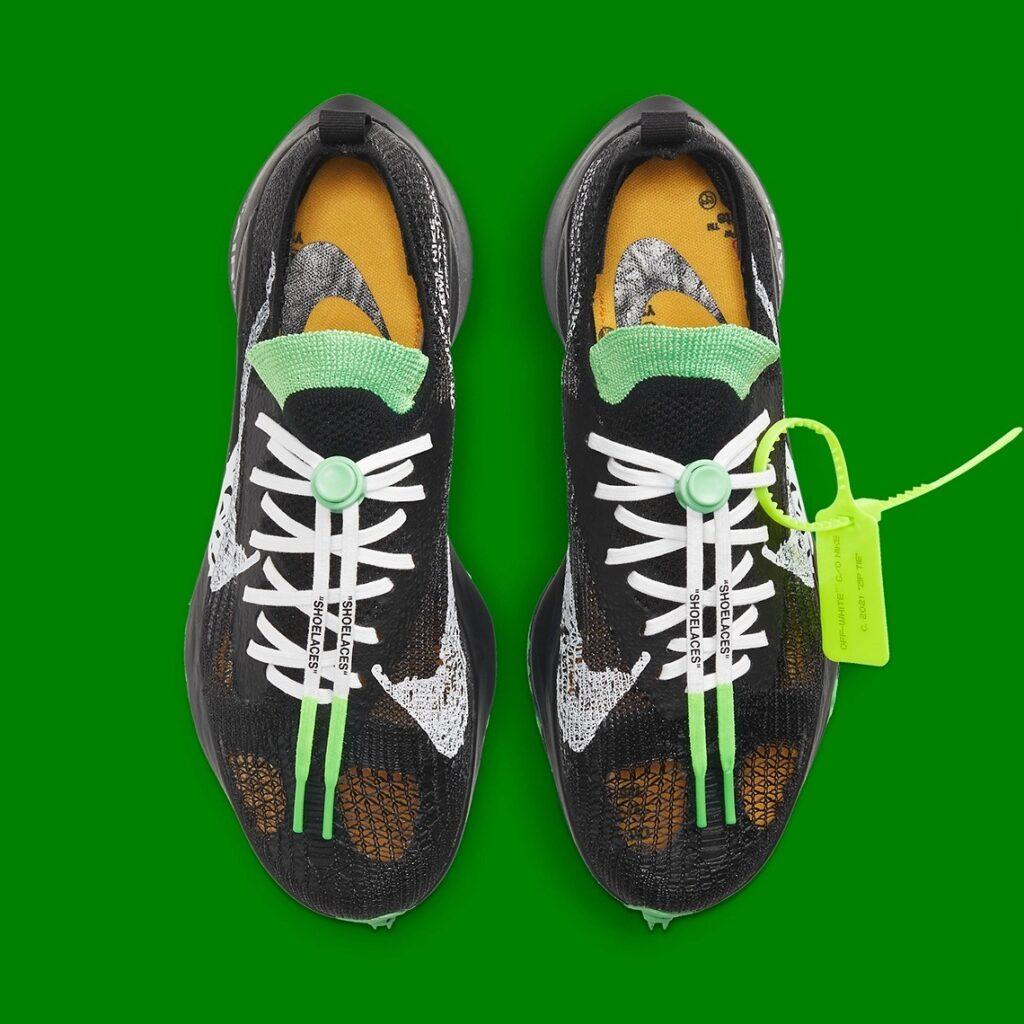 Off White x Nike Air Zoom Tempo NEXT% Black