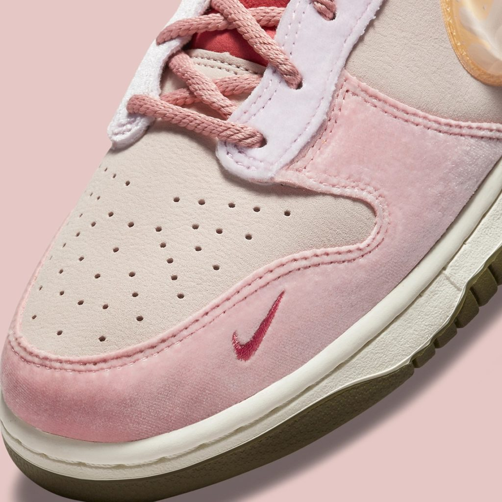 Social Status x Nike Dunk Mid Free Lunch Pink Glaze