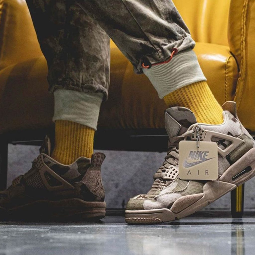 Aleali May x Nike Air Jordan 4