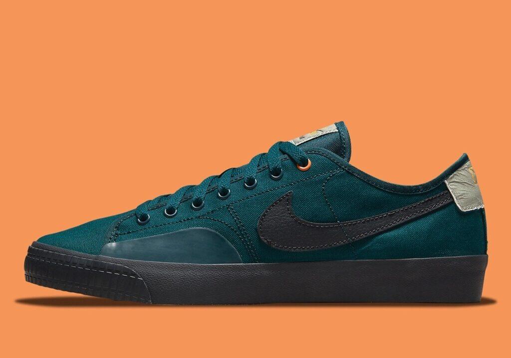 Daan van der Linden x Nike SB Blazer Court Petrol