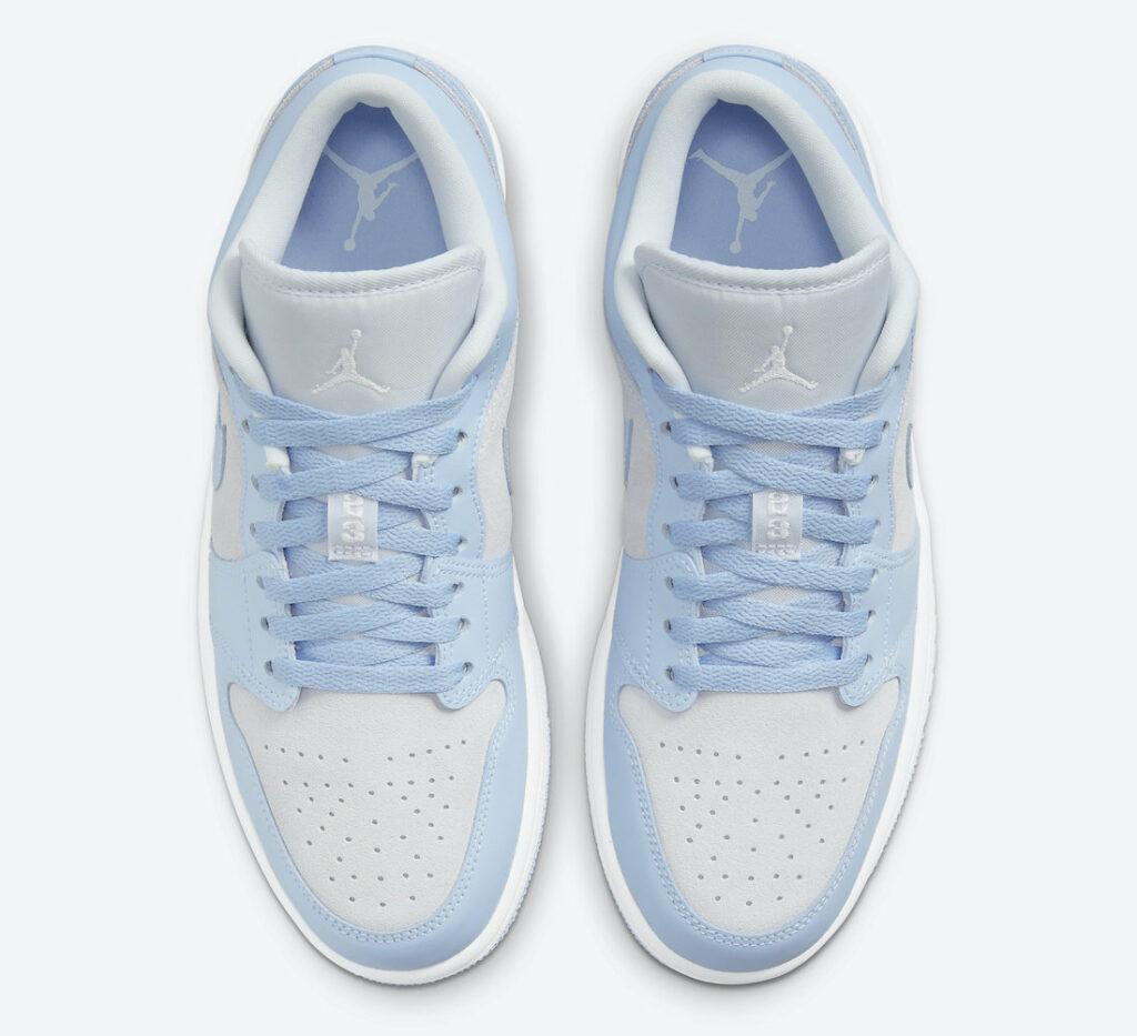 Jordan 1 Low Grey University Blue