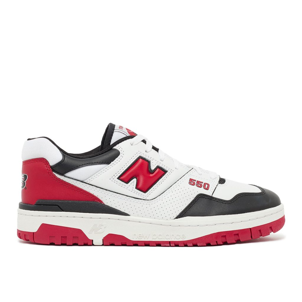 New Balance 550 Red Black White