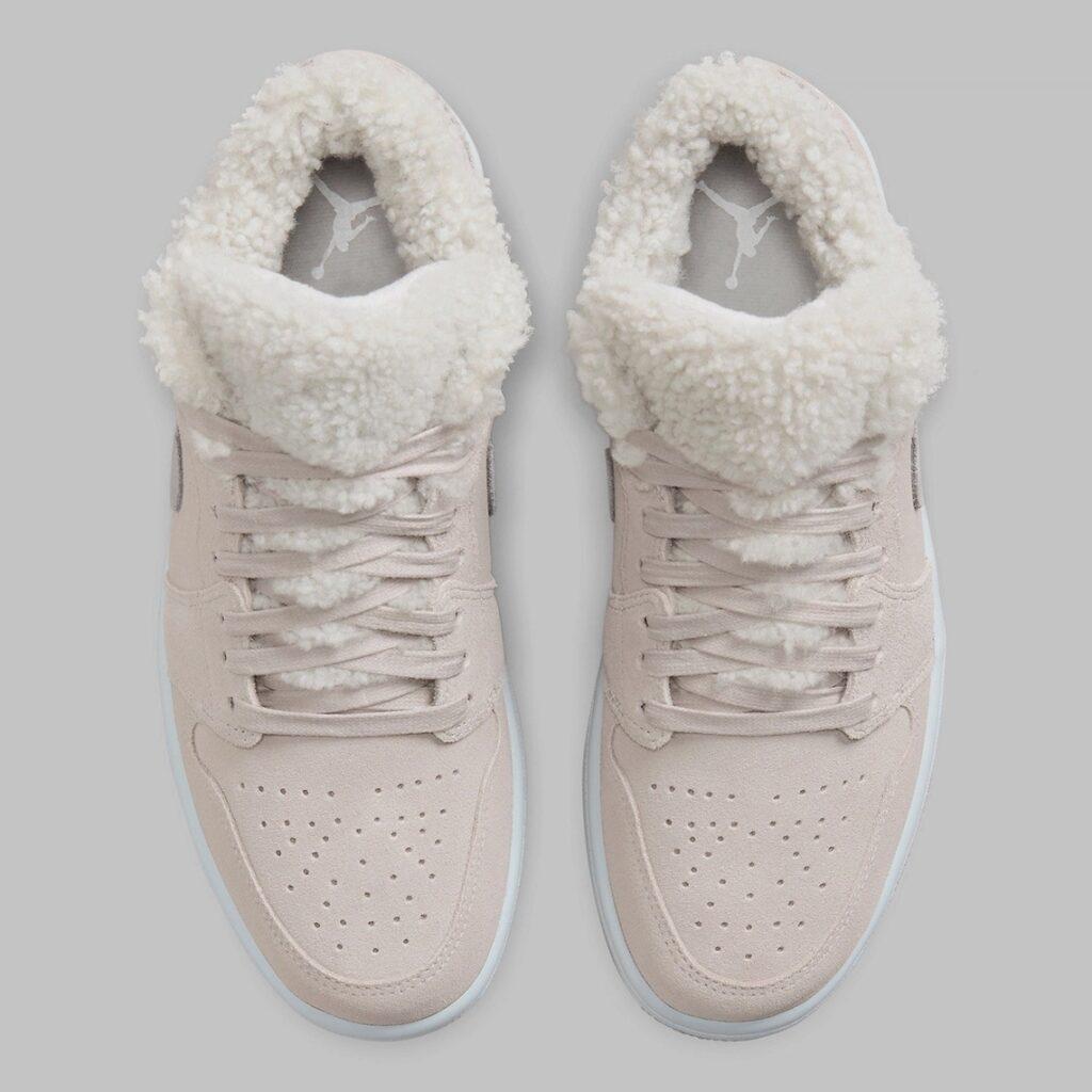 Jordan 1 Low Sherpa Fleece-DO0750-002