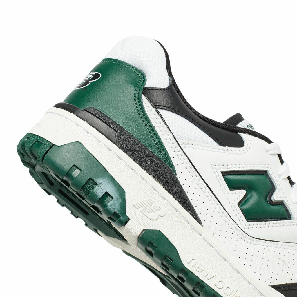 New Balance 550 Black Green