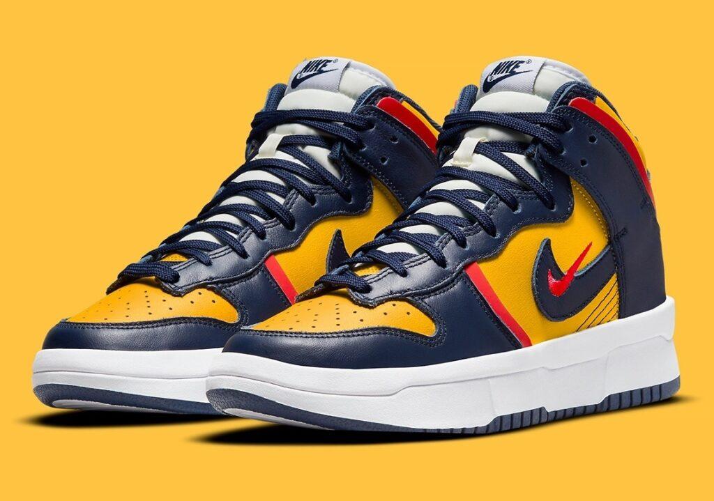Nike Dunk High Rebel Michigan