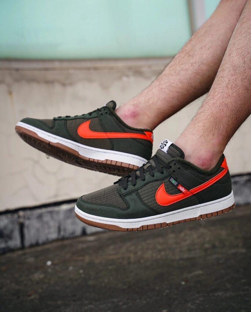 Nike Dunk Low Toasty Green