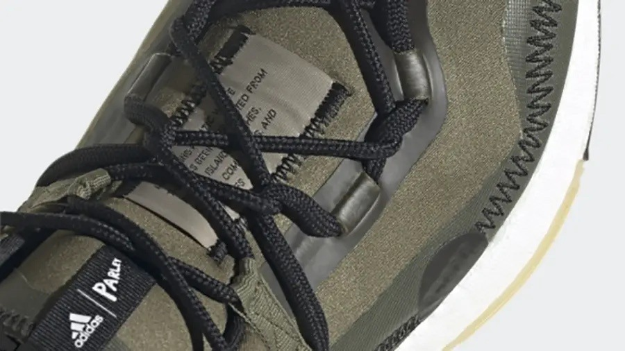 Parley x adidas Ultra Boost 21 Olive