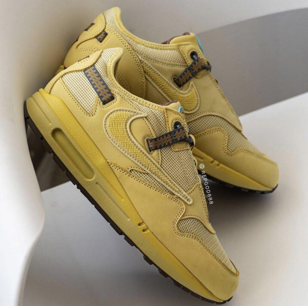 Travis Scott x Nike Air Max 1 Wheat