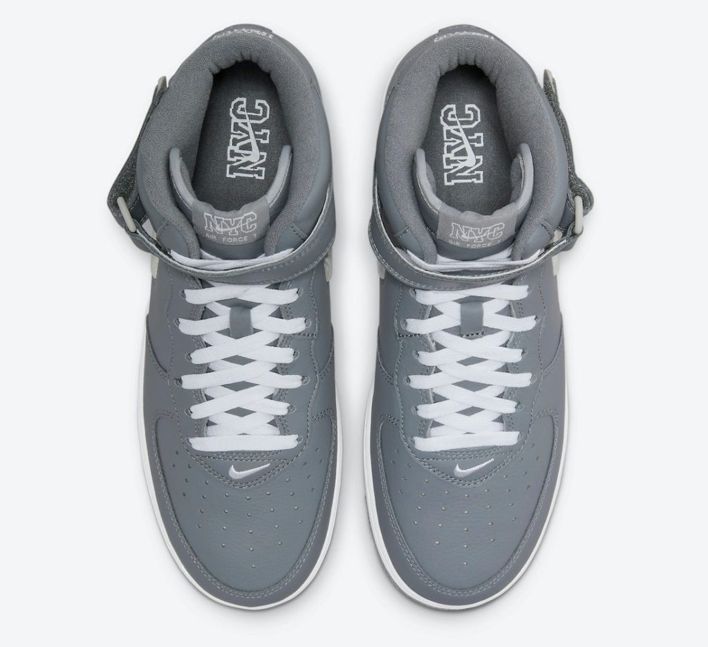 Air Force 1 Mid NYC Cool Grey