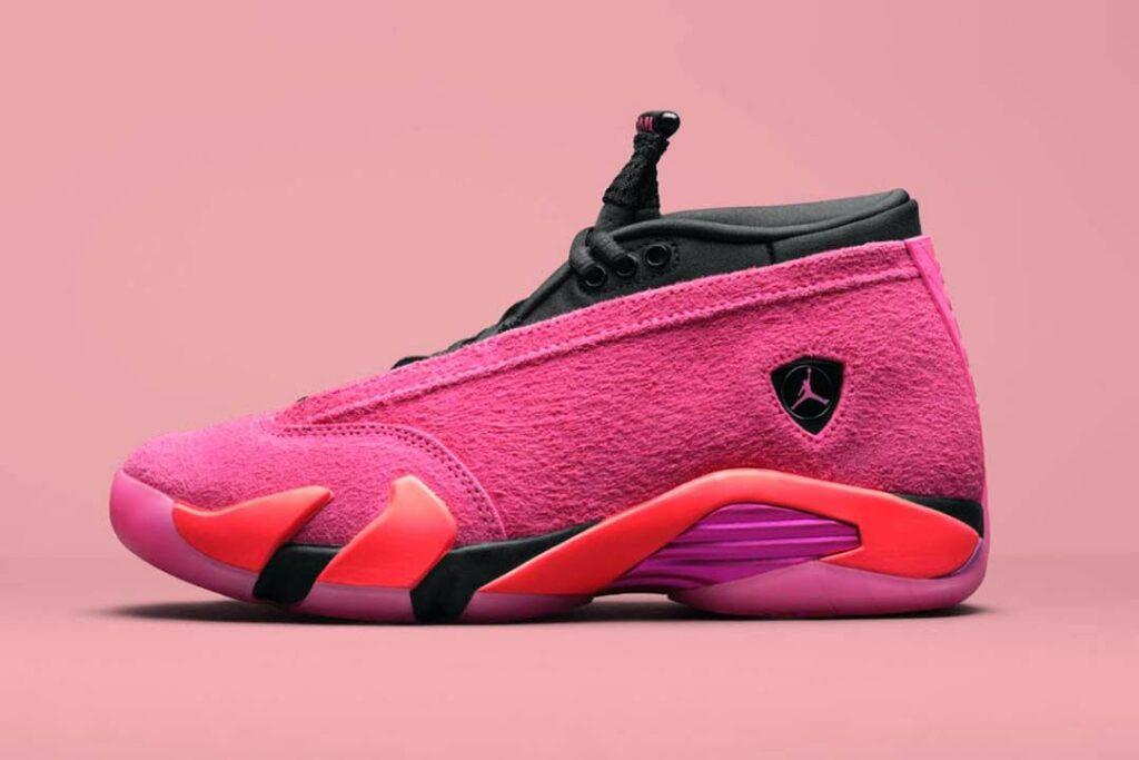 Jordan 14 Low Shocking Pink