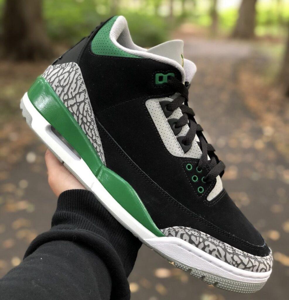 Jordan 3 Pine Green