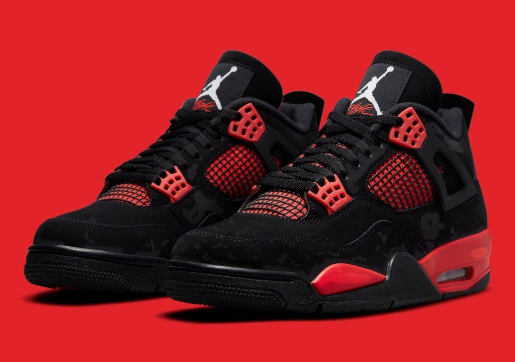 Jordan 4 Retro Red Thunder