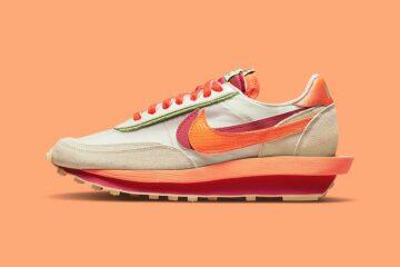 CLOT x Nike x Sacai LD Waffle