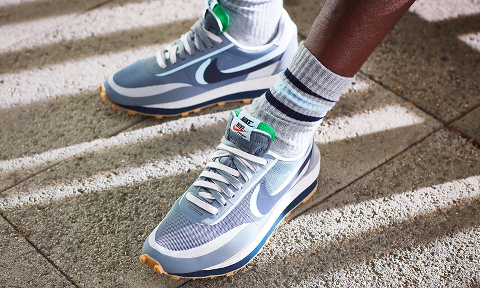 CLOT x Sacai x Nike LDWaffle Grey