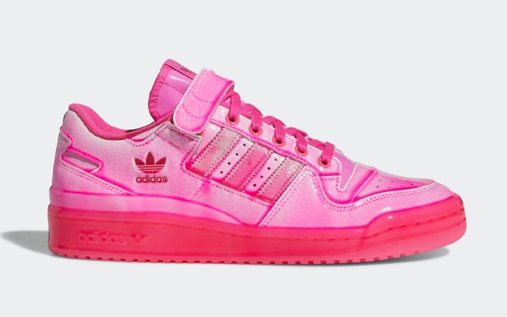 Jeremy Scott x adidas Forum Low Pink