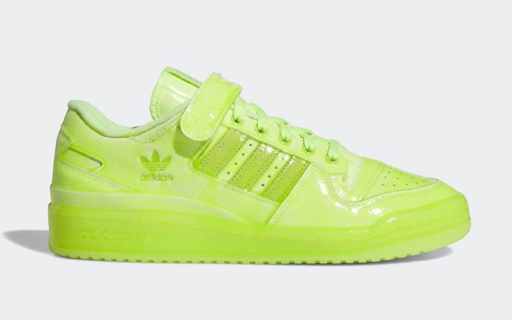 Jeremy Scott x adidas Forum Low Yellow Fluorescent