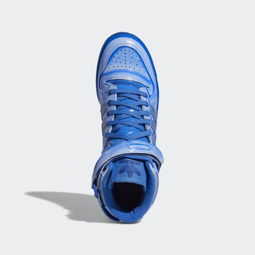 Jeremy Scott x adidas Forum Hi Blue