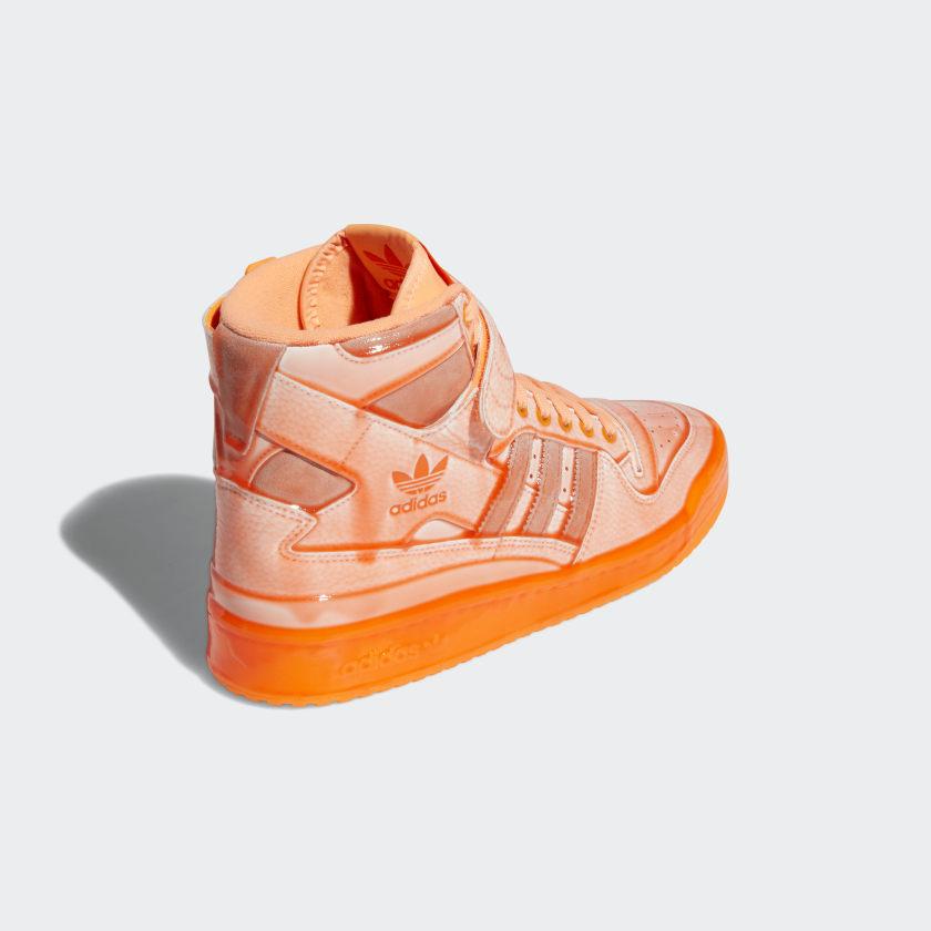 Jeremy Scott x adidas Forum Hi Orange